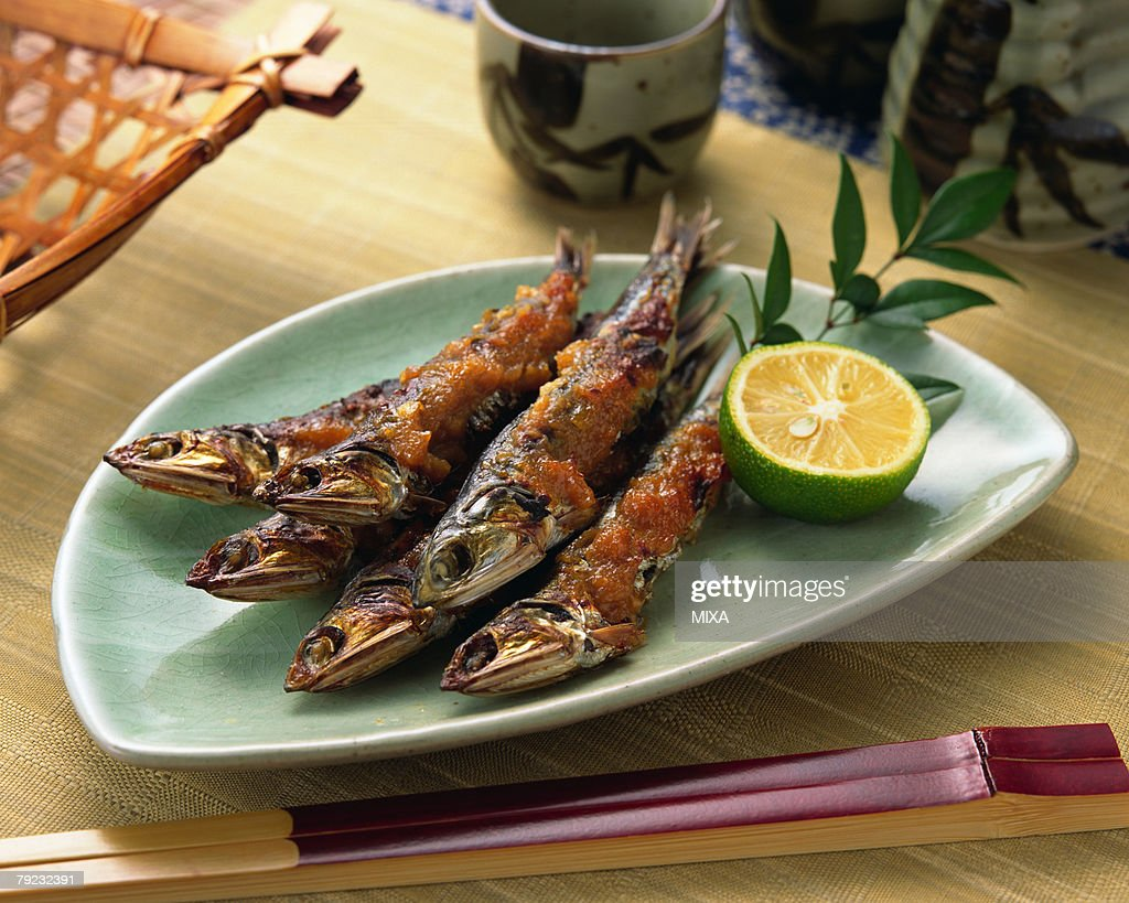 Grilled fish : Stock Photo
