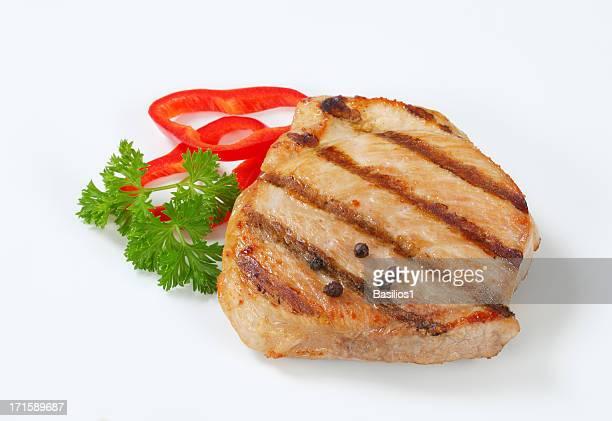 Asado de carne de cerdo con especias