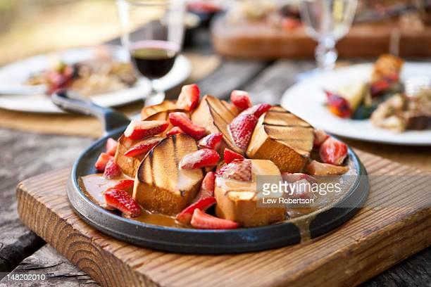 Grilled poundcake