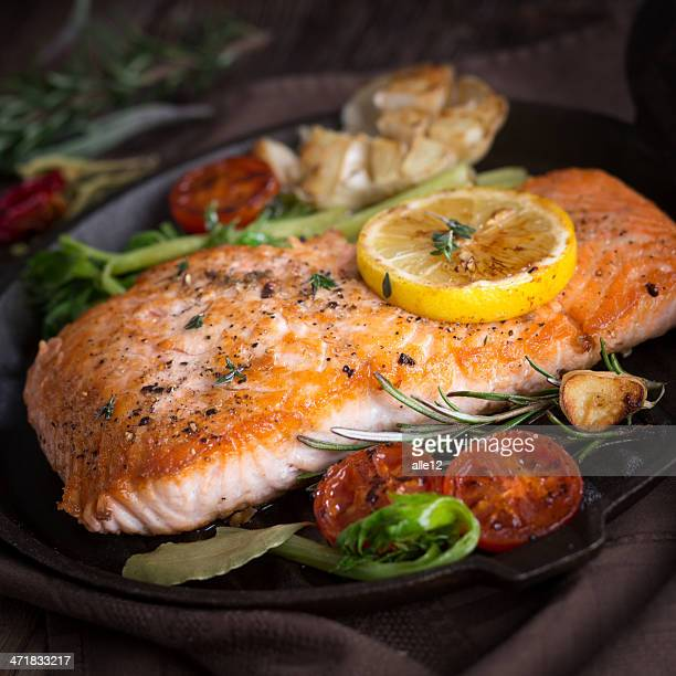 grilled salmon - fillet stock pictures, royalty-free photos & images