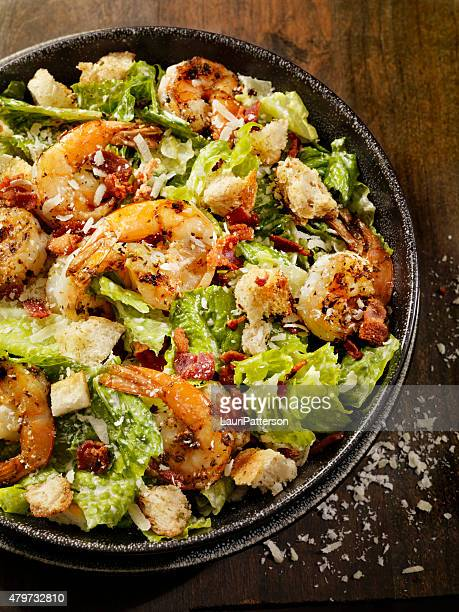 Grilled Shrimp Caesar Salad