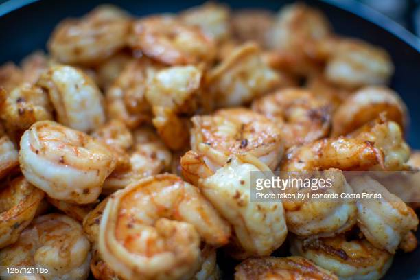 grilled shrimp - leonardo costa farias - fotografias e filmes do acervo