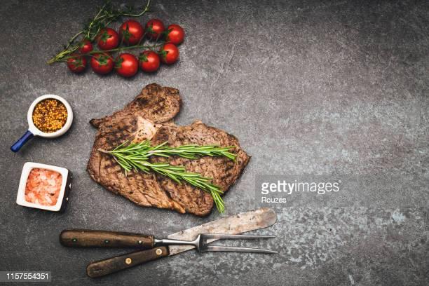 グリルステーキ - ステーキハウス ストックフォトと画像