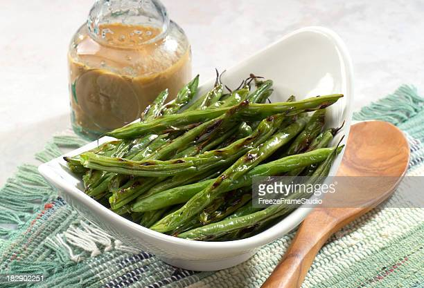Grilled String Beans