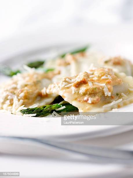 Grilled Tuscan Vegetable Romano Ravioli