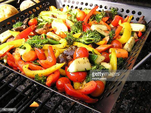 Grilled Vegetables on the BBQ
