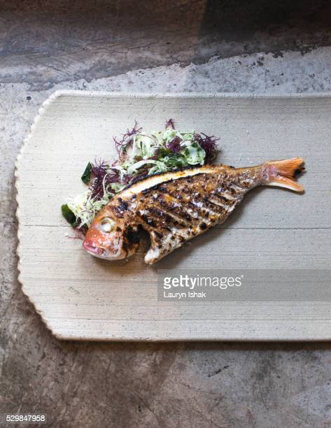Grilled Whole Fish, Burnt Ends, Singapore