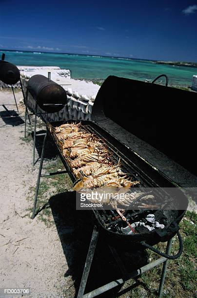 Grilling Lobster and Crayfish