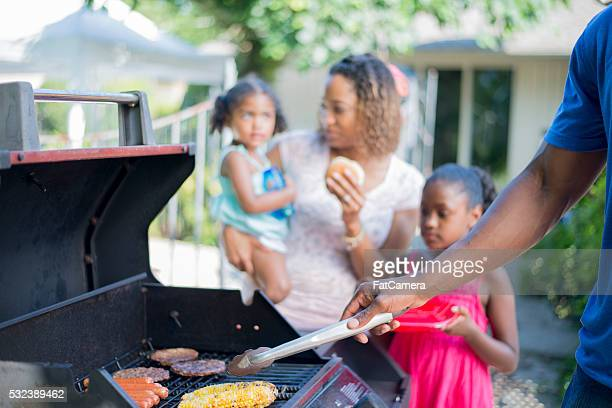 Grilling on a Summer Day