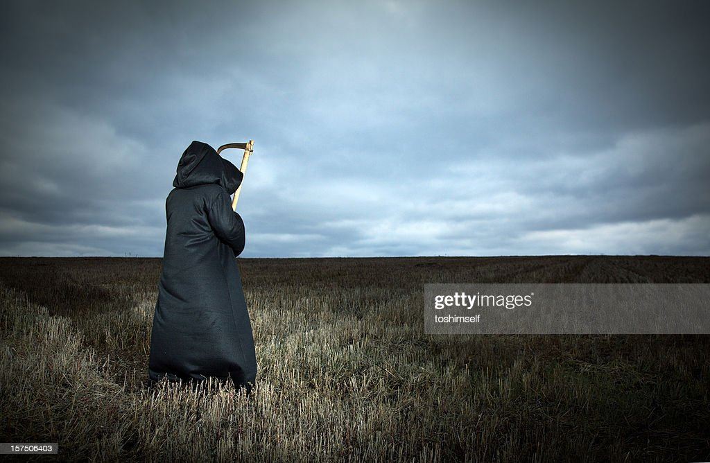 Grim Reaper : Stock Photo