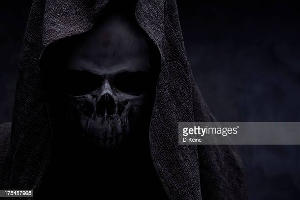 grim reaper - demons stock photos and pictures