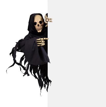 Grim Reaper with sign 531280047