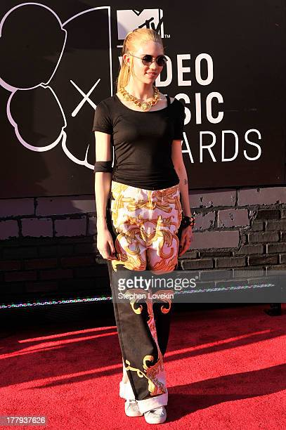 Grimes attends the 2013 MTV Video Music Awards at the Barclays Center on August 25 2013 in the Brooklyn borough of New York City
