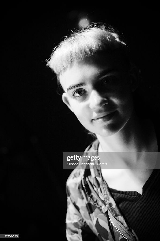 Grimes perform in Rome : News Photo