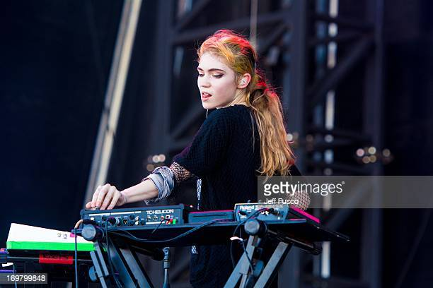 Grimes performs at the 6th Annual Roots Picnic at the Festival Pier June 1 2013 in Philadelphia Pennsylvania