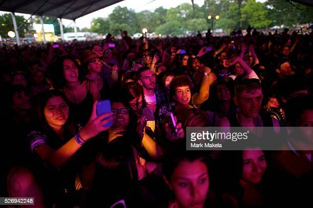 Grimes performs during the Governors Ball Music Festival on Randall's Island in New York NY on June 6 2014