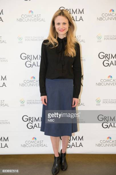 GRIMM 'Grimm Gala 2017' Pictured Claire Coffee