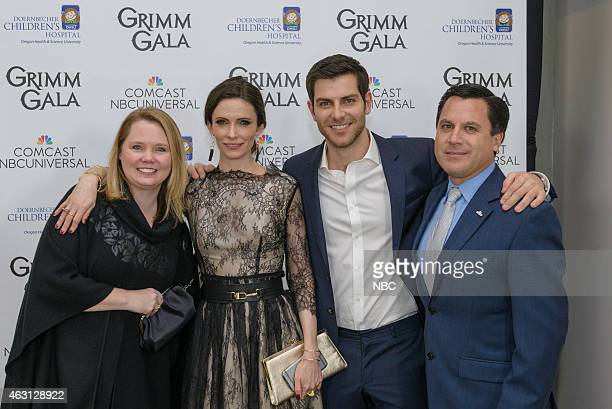 GRIMM 'Grimm Gala' Pictured Mary Cote Bitsie Tulloch David Giuntoli Rodrigo Lopez Regional Vice President Comcast