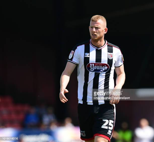Grimsby Town's Alex Whitmore during the Sky Bet League Two match between Grimsby Town and Lincoln City at Blundell Park on August 18 2018 in Grimsby...
