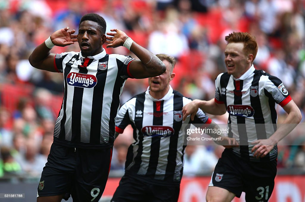 Forest Green Rovers v Grimsby Town - Vanarama Football Conference League: Play Off Final : News Photo