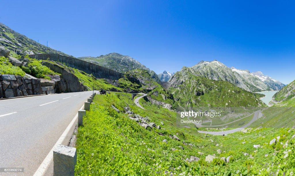 Grimsel Pass - Switzerland : Stock Photo
