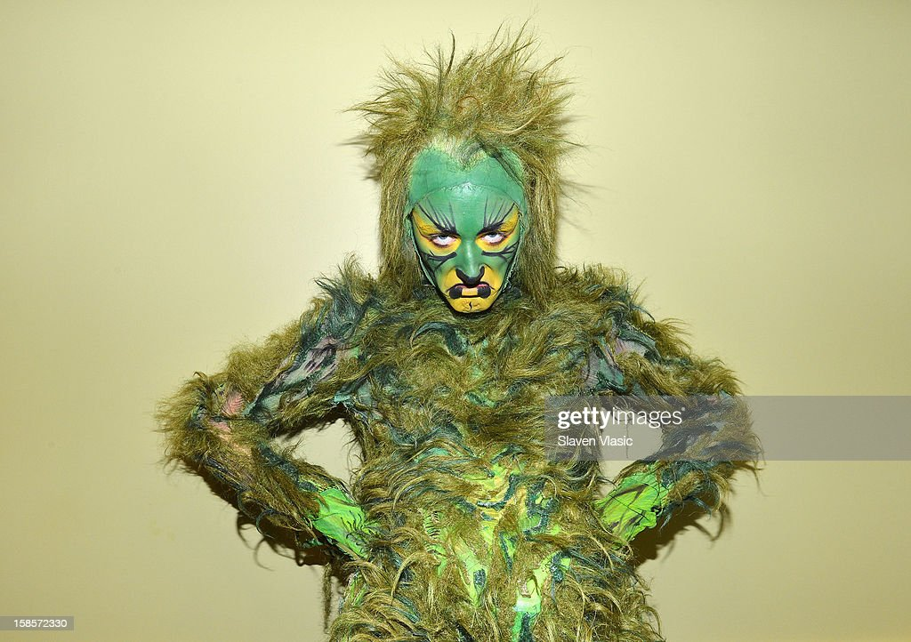 Grinch from MSG's 'How The Grinch Stole Christmas' visits