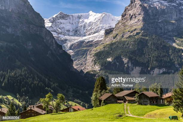 Grindelwald, Bernese Oberland, Switzerland, Europe