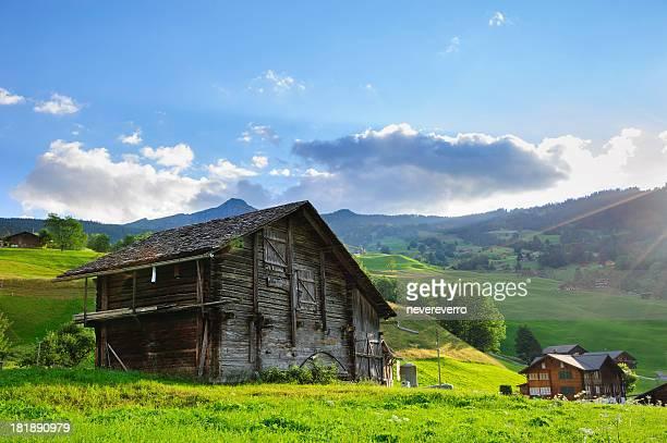 Grindelwald Village in der Berner Alpen, Schweiz