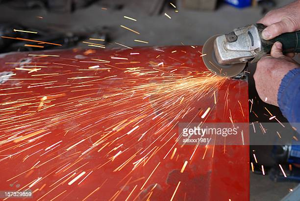 grinder - fabricage apparatuur stock pictures, royalty-free photos & images