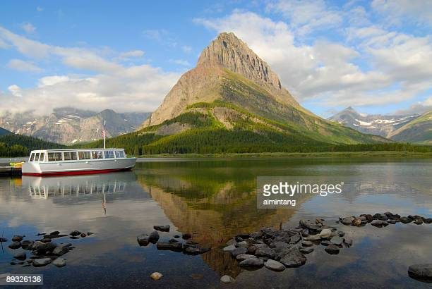 Grinnel Point and Swiftcurrent Lake
