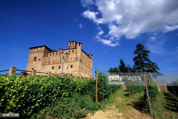 Grinzane Cavour castle Langhe Piemonte Italy