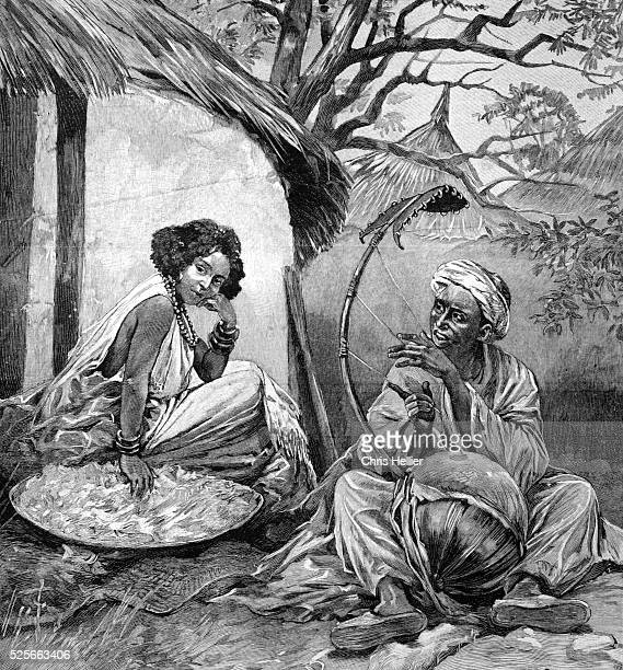 Griot or West African Story Teller 1904