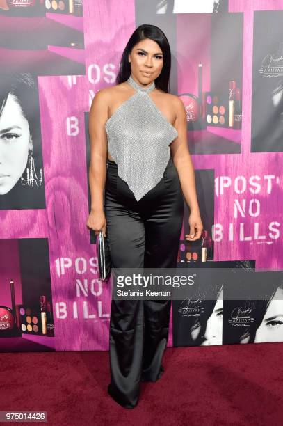 Griselda Martinez attends MAC Cosmetics Aaliyah Launch Party on June 14 2018 in Hollywood California