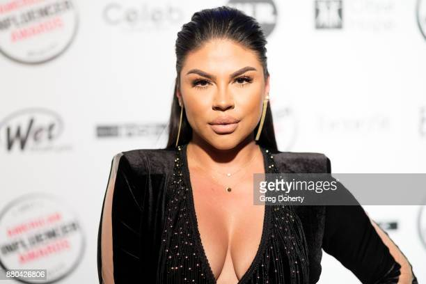 Griselda Martinez attends the American Influencer Award at The Novo by Microsoft on November 18 2017 in Los Angeles California
