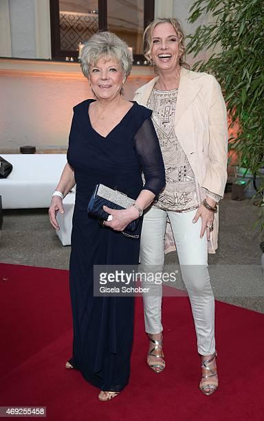 Grit Boettcher and her daughter Nicole BelstlerBoettcher during the German premiere for Amazon's original drama series 'Transparent' at Kuenstlerhaus...