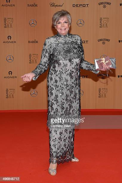 Grit Boettcher attends the Bambi Awards 2015 at Stage Theater on November 12 2015 in Berlin Germany