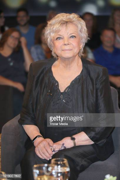 Grit Boettcher during the 'Tietjen und Bommes' TV show on August 17 2018 in Hanover Germany