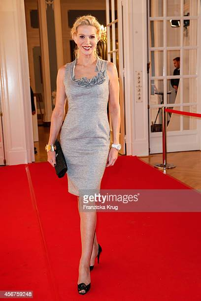 Grit Weiss attends the Media Entertainment Night 2014 at Atlantik Hotel on October 06, 2014 in Hamburg, Germany.