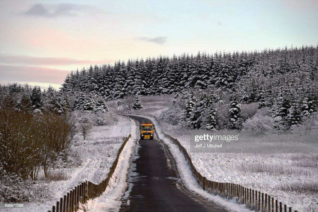 Cold Spell Hits the UK : News Photo