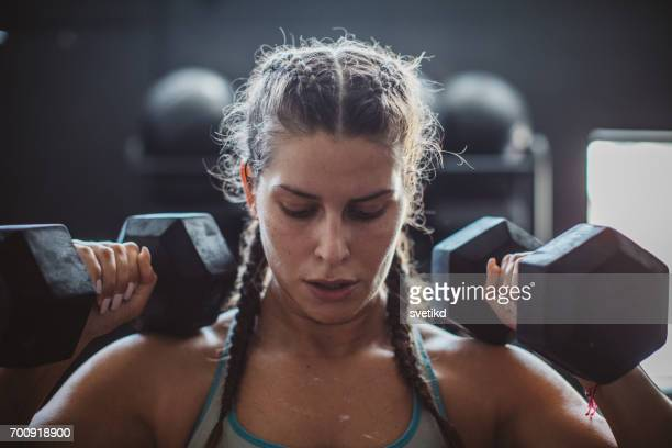 gritty women - sports training stock pictures, royalty-free photos & images