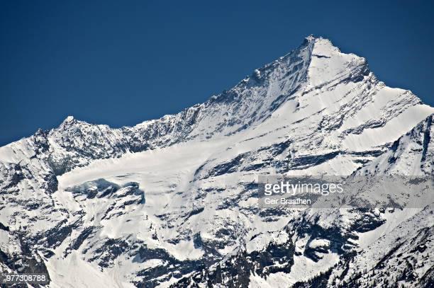 Grivola peak in snow, Aosta Valley, Italy