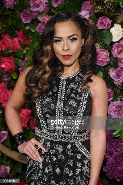 Grizel Del Valle attends the Maestro Cares Third Annual Gala Dinner at Cipriani Wall Street on March 8 2018 in New York City
