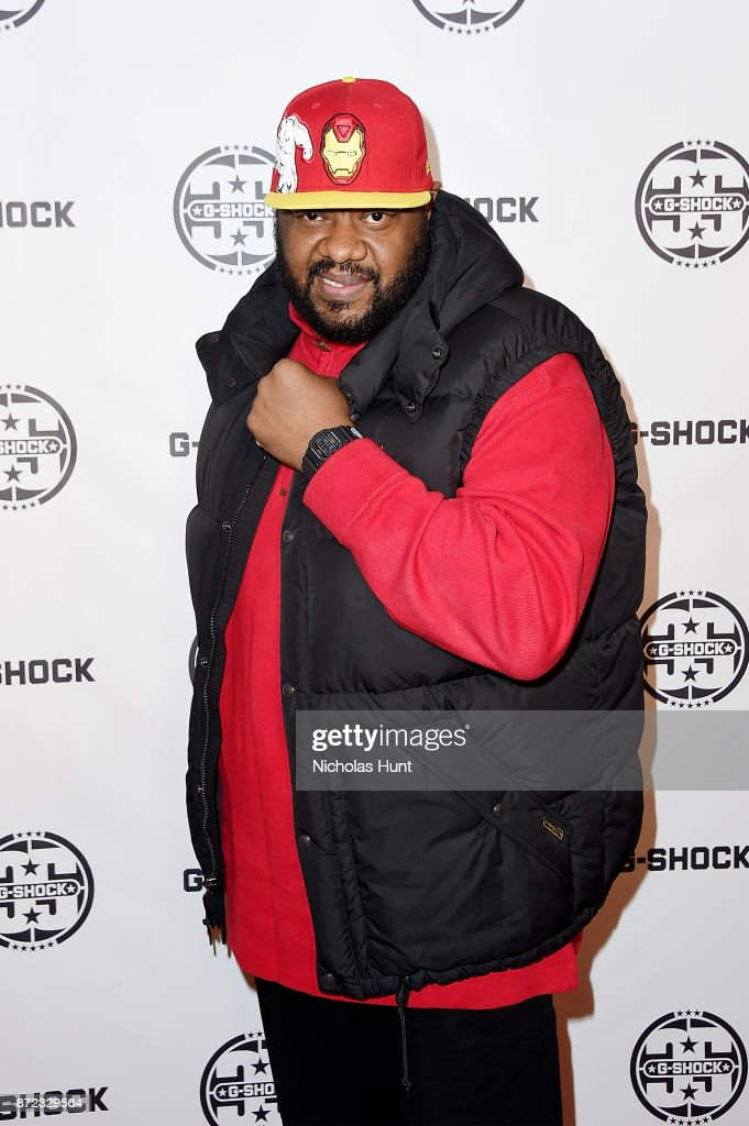 Grizz Chapman attends the G-Shock 35th Anniversary Celebration at The Theater at Madison Square Garden on November 9, 2017 in New York City.