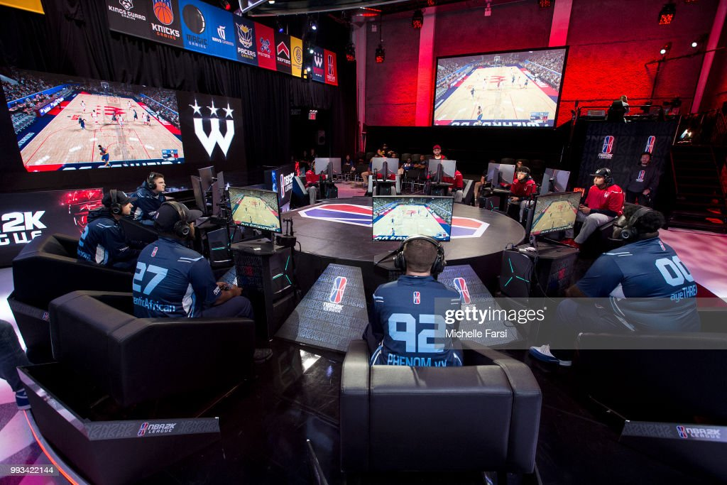 Wizards District Gaming v Grizz Gaming : News Photo