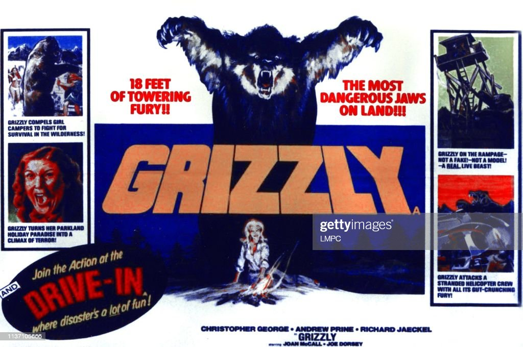 Grizzly, poster, 1976. News Photo - Getty Images