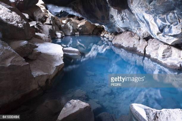 Cueva de lava Grjotagja