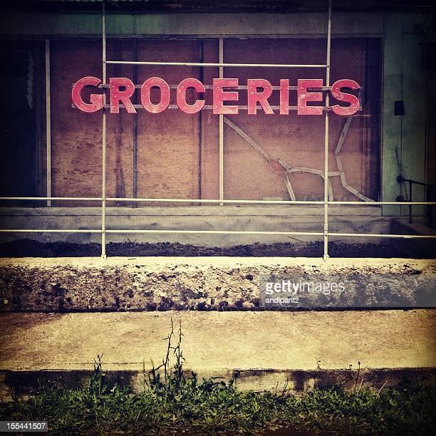mercearia - fachada supermercado imagens e fotografias de stock