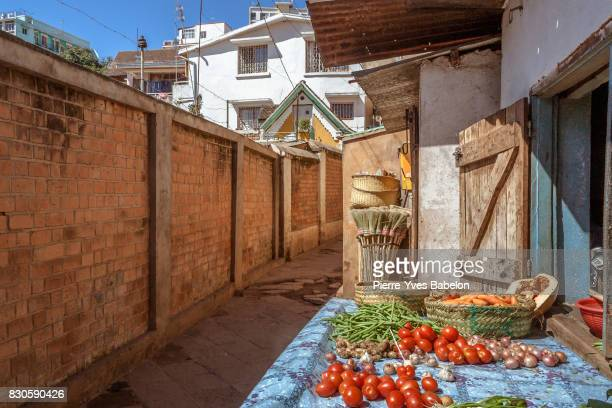 Grocery shop in the lanes of Antananarivo