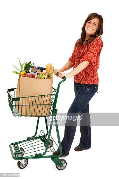 Grocery Shopping Woman