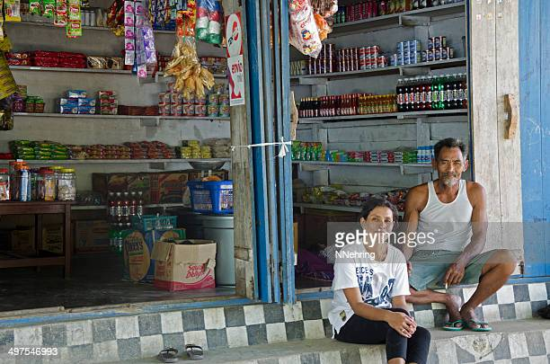 grocery store in kokas, indonesia - papua province indonesia stock pictures, royalty-free photos & images